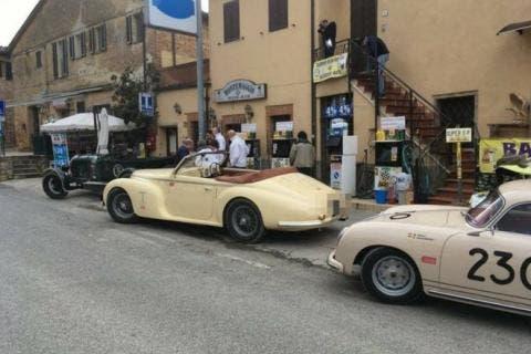 Alfa Romeo 6C 2500 Sport Cabriolet Touring Superleggera esemplare ritrovato