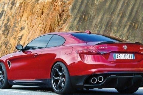 Alfa-Romeo-Giulia-Coupe-Render-posteriore-rossa