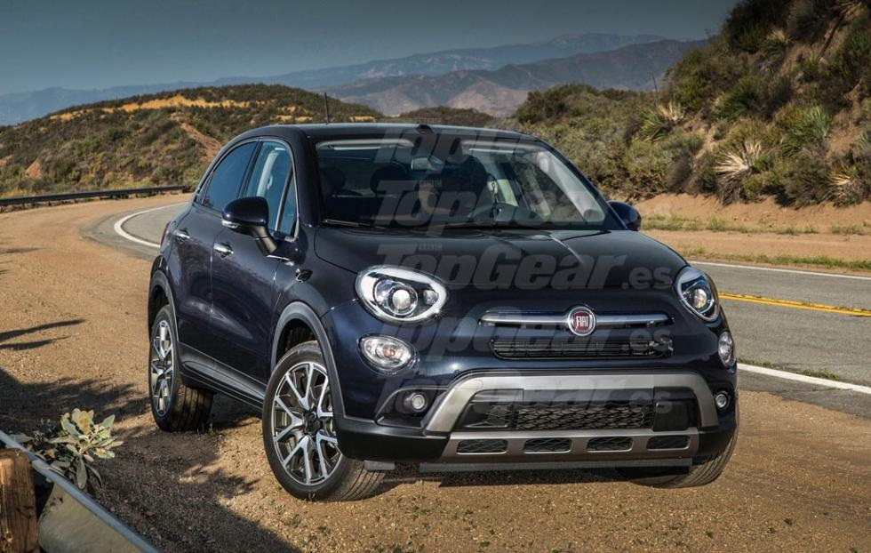 fiat 500x nuove indiscrezioni sul restyling. Black Bedroom Furniture Sets. Home Design Ideas