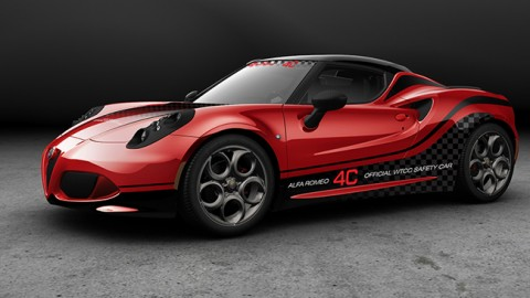 ALfa romeo 4c a Top gear