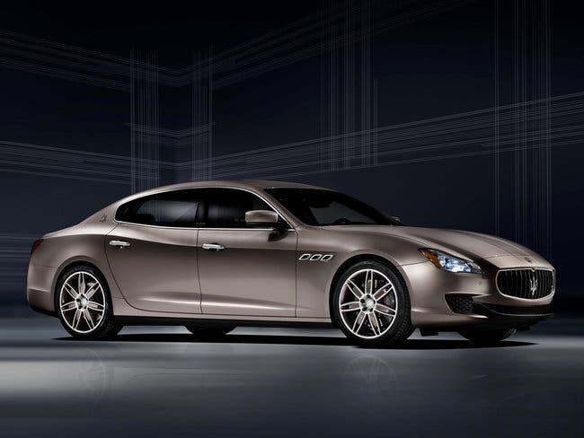 Maserati Quattroporte Ermenegildo Zegna Limited Edition