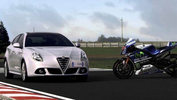 Alfa Romeo Giulietta Riders Jorge Lorenzo