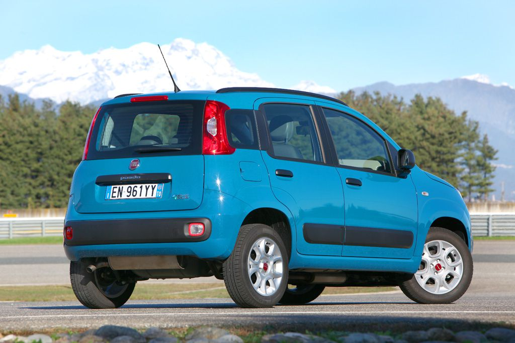Auto a metano Fiat Ecobest 2013