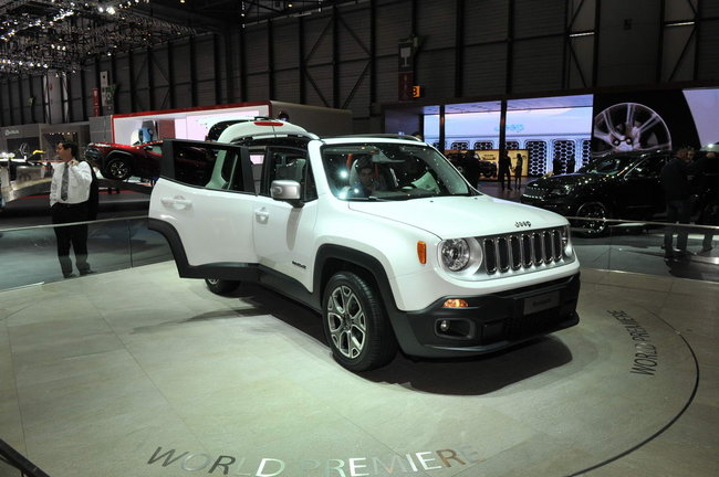 Jeep Renegade piccola Salone di Ginevra