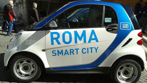 Car2Go Roma car sharing ZTL parcheggio gratis