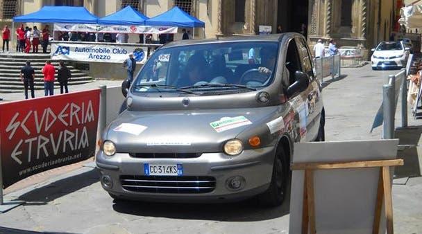 Fiat Multipla a metano Ecorally 2014