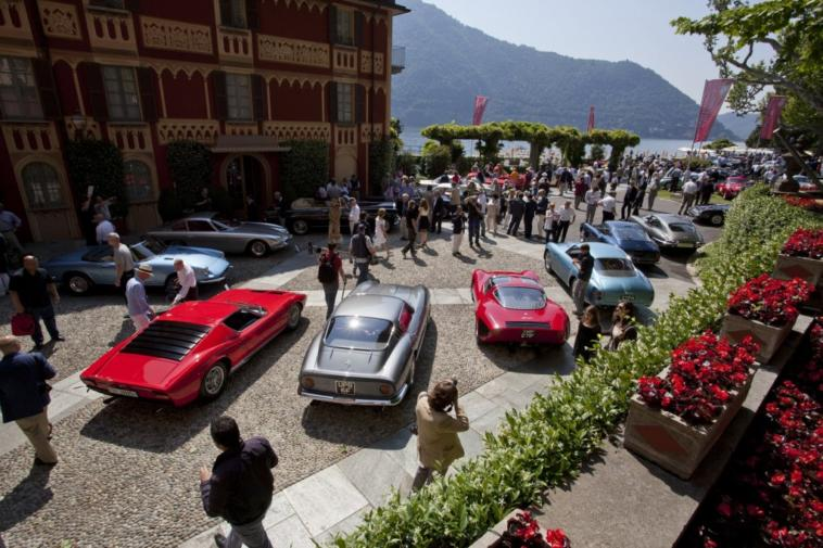 Villa d'Este 2014 Alfa Romeo 6C Maserati Alfieri