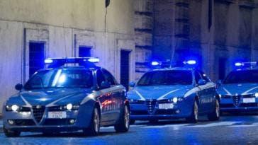 Polizia Alfa Romeo e Volvo