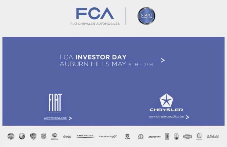 FCA Investor Day