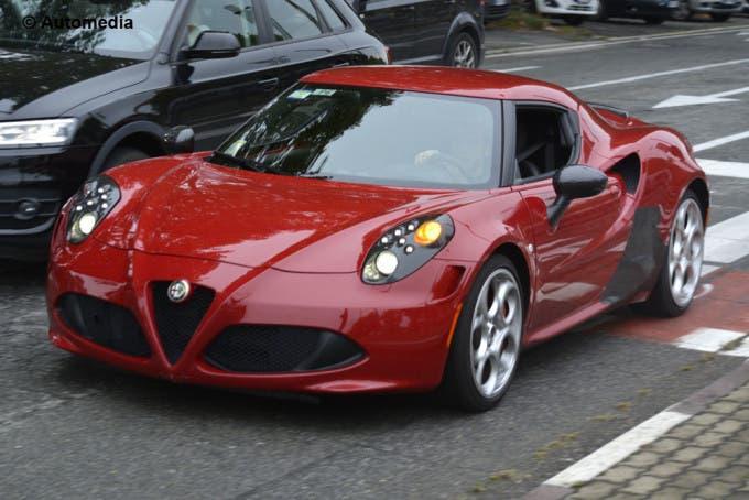 Alfa Romeo 4C Quadrifoglio Verde