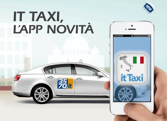 IT Taxi app anti Uber tassisti