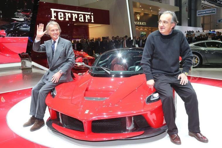 Marchionne nuovo presidente Ferrari Montezemolo addio