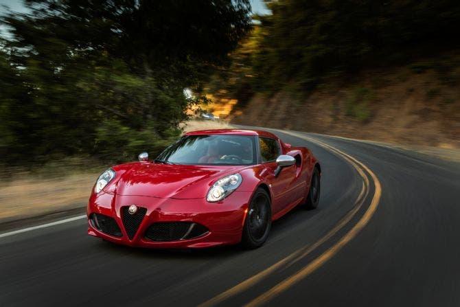 Alfa Romeo 4c USA