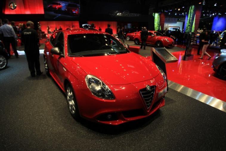 Alfa Romeo Giulietta Sprint Salone di Parigi 2014