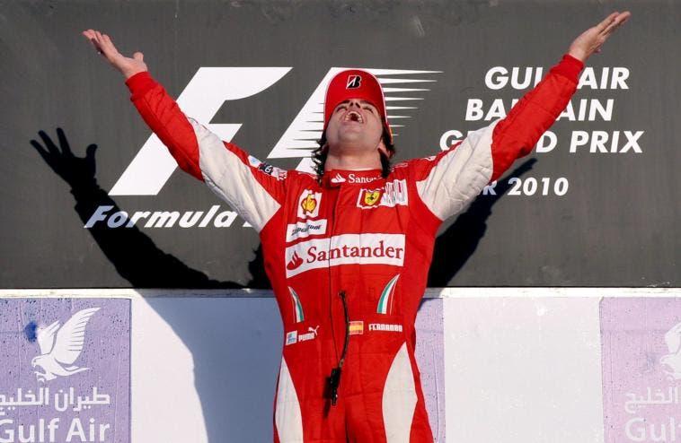 Fernando Alonso Ferrari Sebastian Vettel terza auto Formula 1