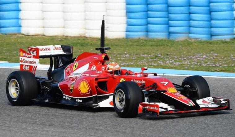 Ferrari 2015 666 F14-T 2014 peggiore