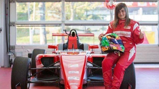Ferrari donna guida monoposto