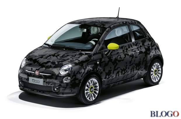 Fiat 500 Couture Ron Arad Edition