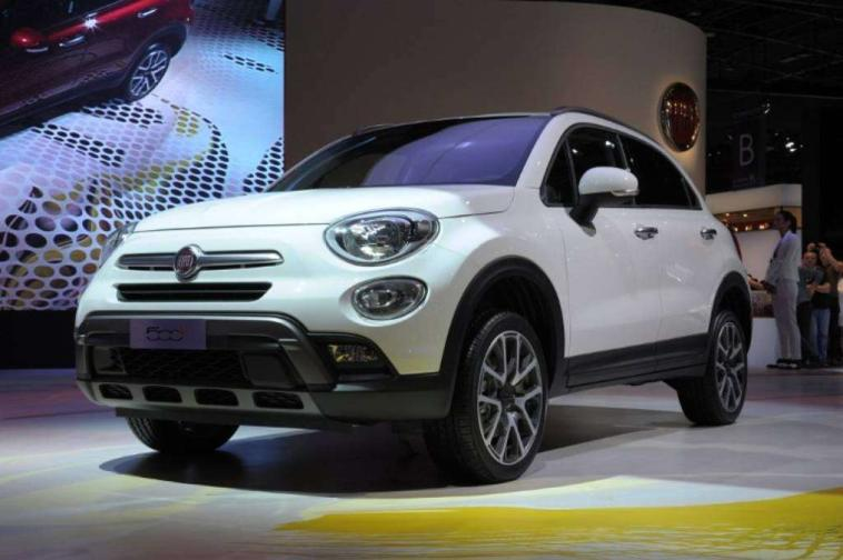 Fiat 500X Jeep Renegade Salone di Parigi 2014