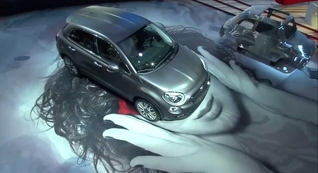 Fiat 500X video presentazione Salone di Parigi 2014