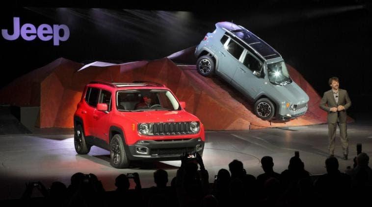 Jeep Renegade Brasile Salone di San Paolo 2014