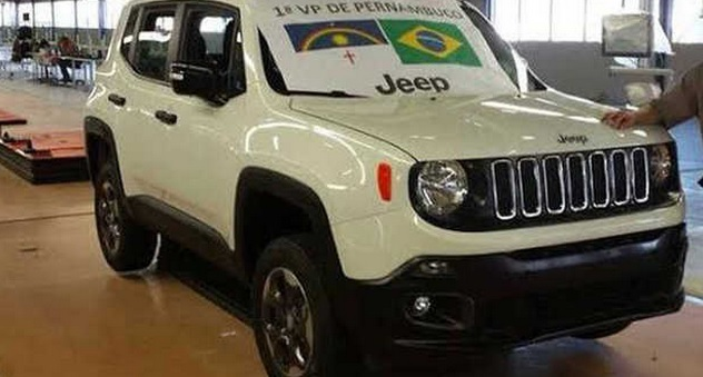 Jeep Renegade Brasile