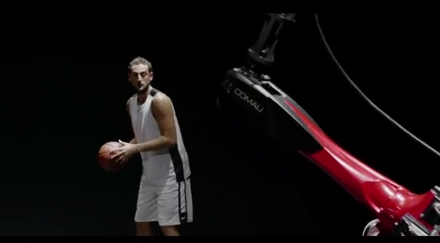 Robot Fiat Marco Belinelli basket