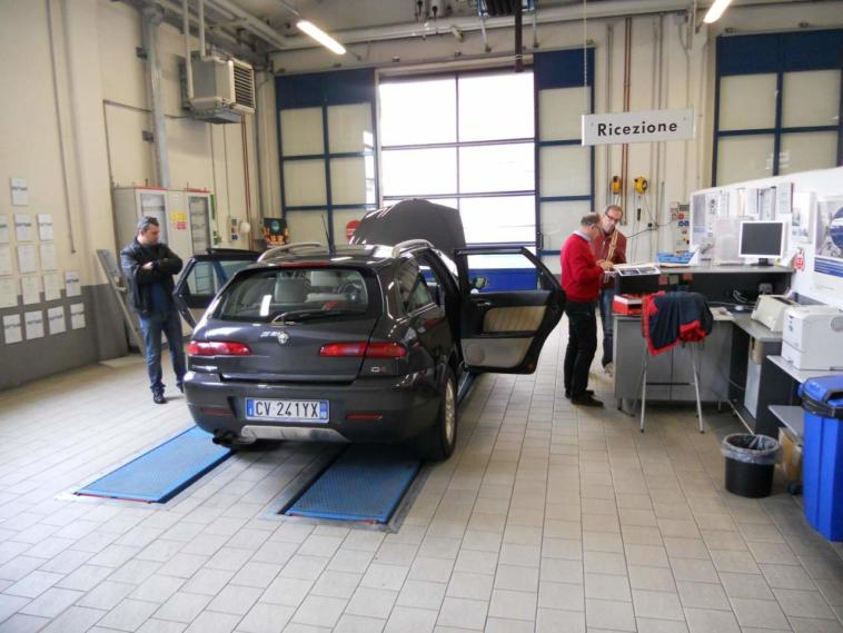 Sedute Riar omologazione Alfa Romeo