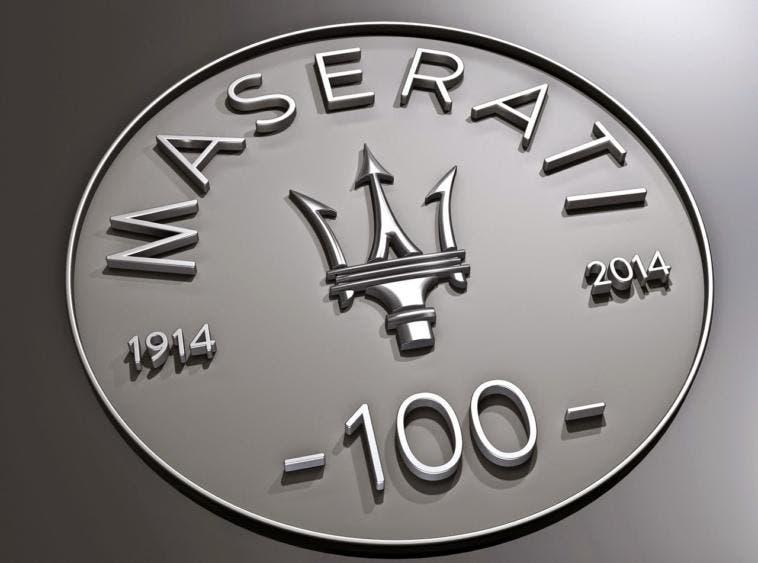 Centenario Maserati Tour Of The Year 2014