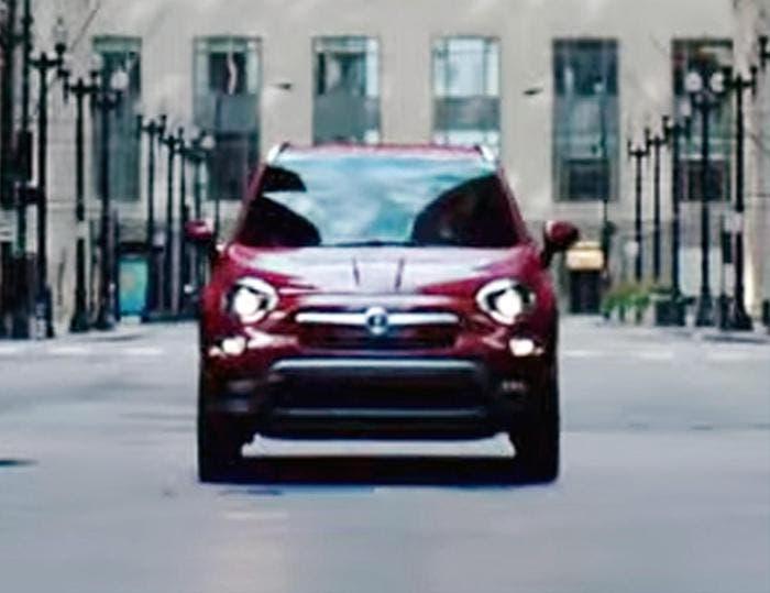 Fiat 500X spot pubblicitario Torino