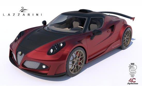 Alfa Romeo 4C Ferrari rendering 3