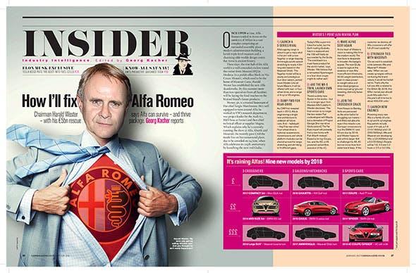 Alfa Romeo CEO
