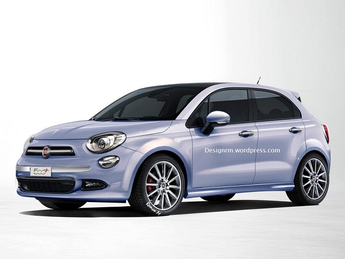 Fiat 500 Plus, un render prova ad anticiparne il design