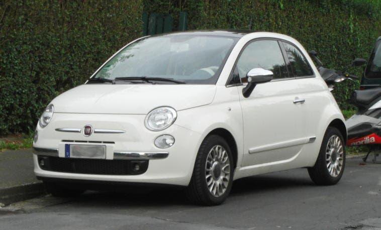 Fiat 500 rubate furti airbag ladri auto