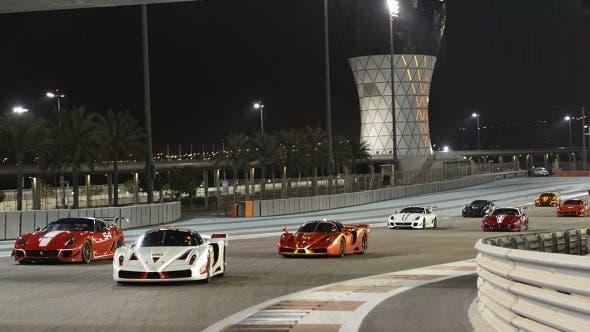 Finali Mondiali Ferrari 2014 Abu Dhabi