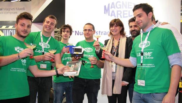Magneti Marelli Hackathon Motor Show Bologna 2014