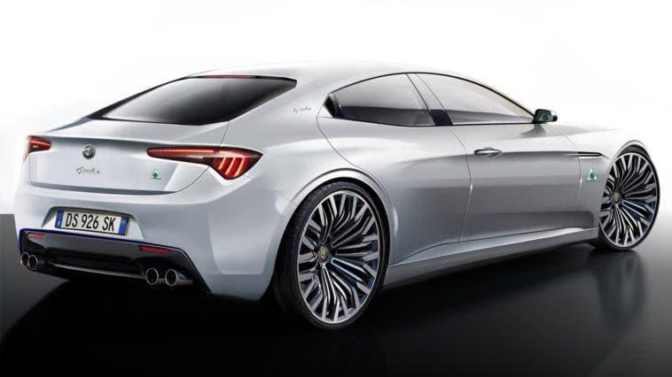 Alfa Romeo Giulia Render Ipotesi del 2015
