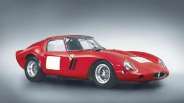 Ferrari 250 GTO classifica auto 2014 più care