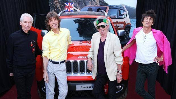 Jeep Renegade Rolling Stones autografo asta beneficenza