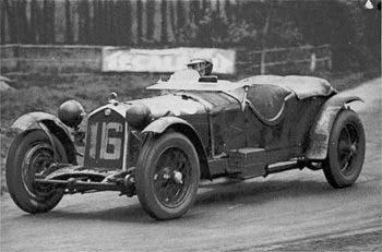 """La 8C in azione alla """"Le Mans"""" 1931"""