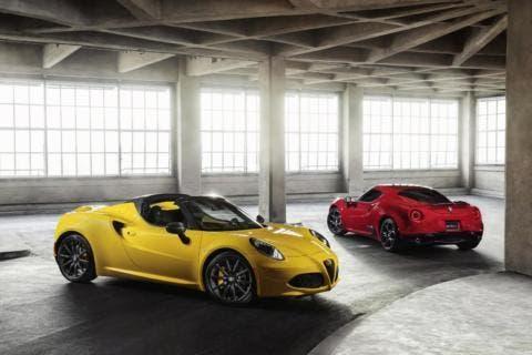 Alfa Romeo 4C Spider Canadian Auto Show 2015 Toronto