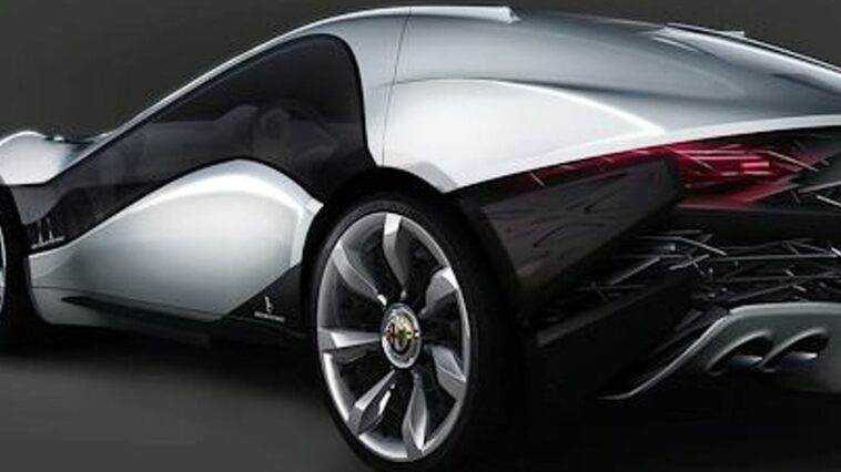 Alfa Romeo Pandion Concept Photo Back