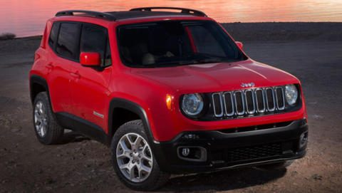 Jeep Renegade Ginevra 2015