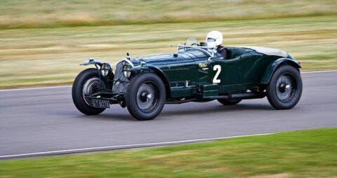 Una 8C 2300 Le Mans in pista