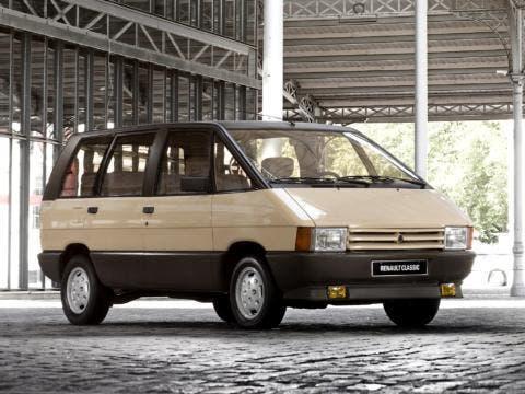 La prima generazione di Renault Espace, anno 1984