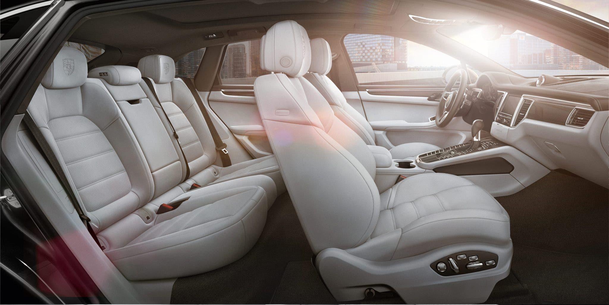 Interni e dimensioni Porsche Macan
