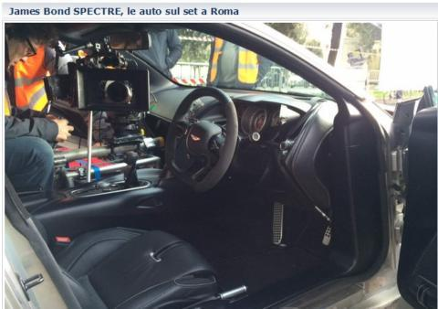 007 a roma le auto di spectre