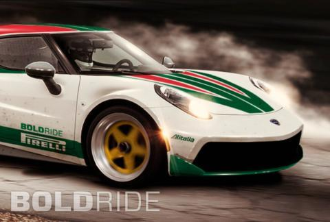 AAlfa Romeo 4C Lancia Stratos