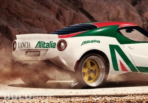 Alfa Romeo 4Alfa Romeo 4C Lancia StratosC Lancia Stratos