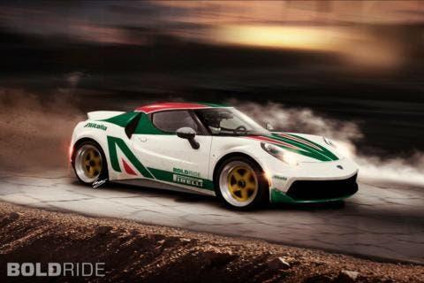 Alfa Romeo 4C Lancia Stratos